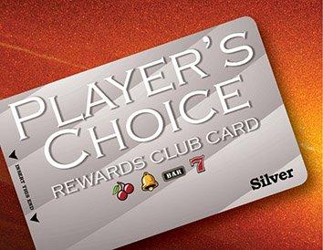 Player's Choice Rewards Club Card   Silver