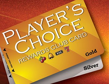 Player's Choice Rewards Club Card | Gold | Silver