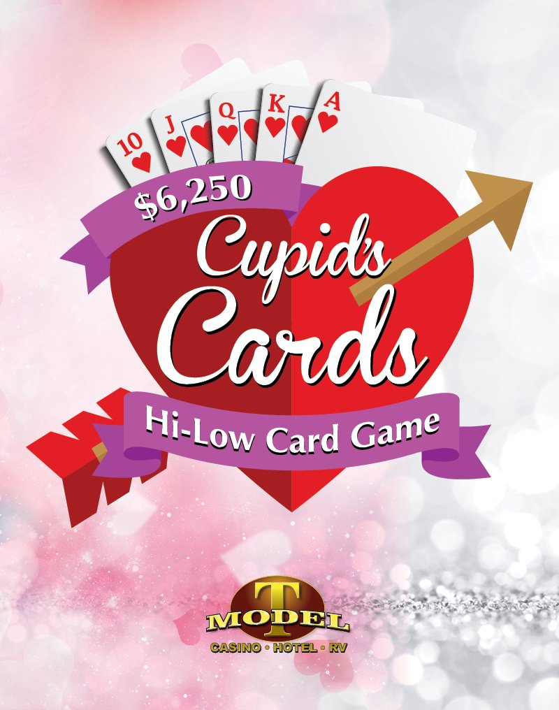 $12,500 Cupid's Cards Hi-Low Card Game