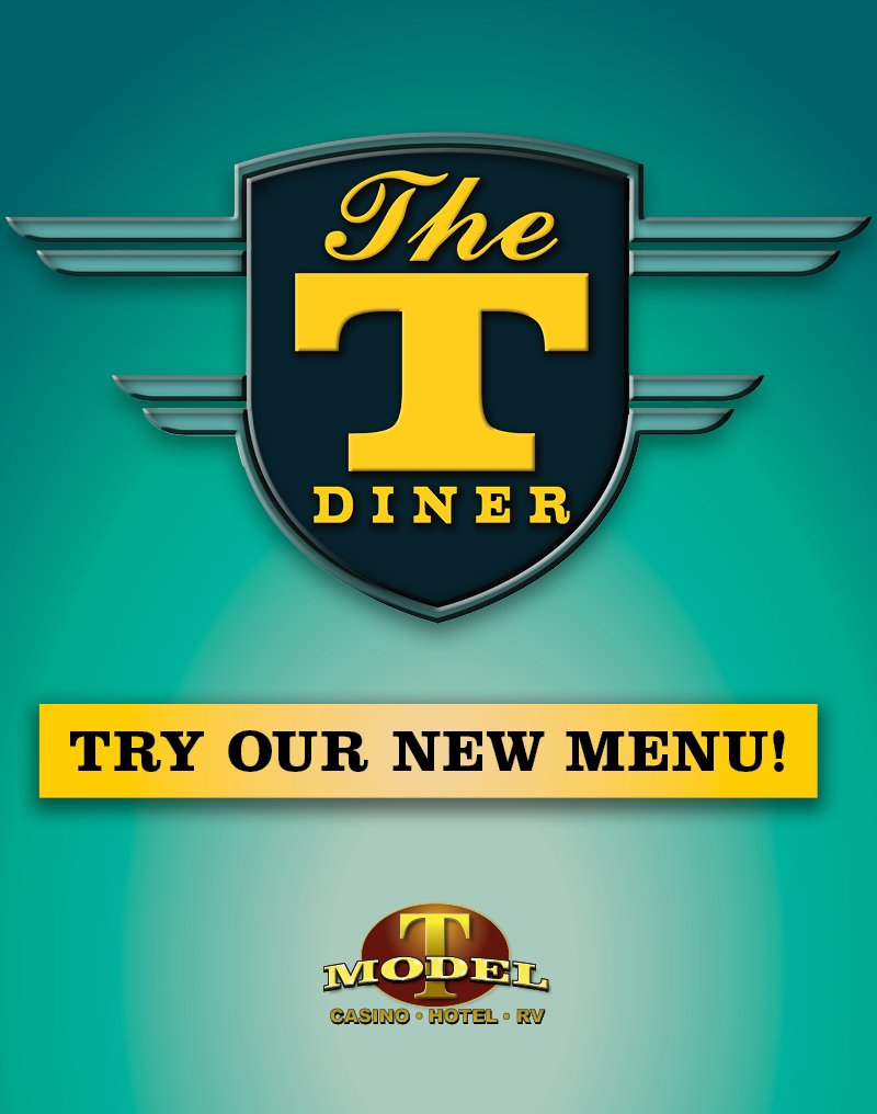 The T Diner   Try our New Menu!
